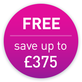 Save up to £375