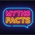 Myths Facts Neon Sign