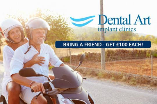Refer A Friend - You Both Get £100!